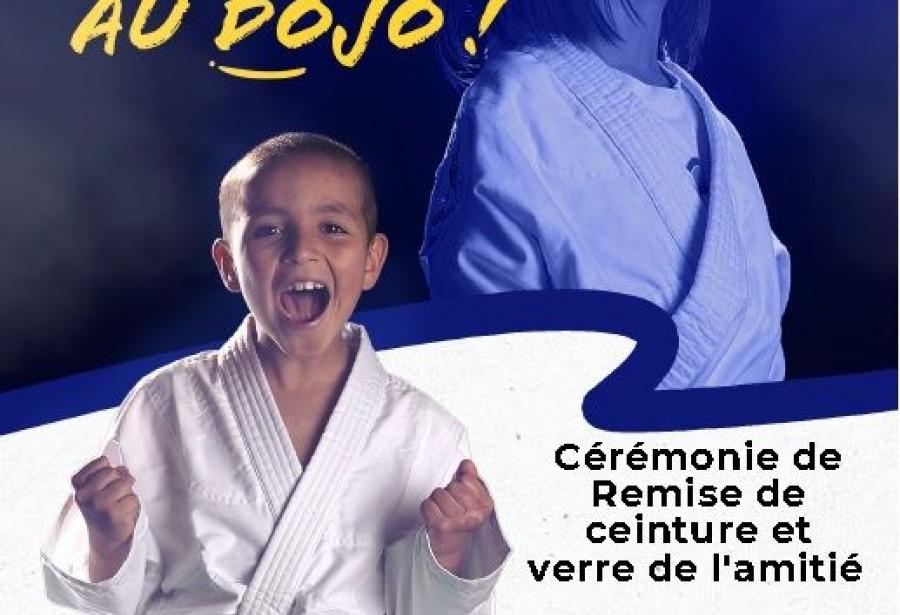 Remise de ceintures le 22 Octobre à 18h au dojo du Centre Benoît  Frachon